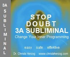 stop Doubt 3A Subliminal