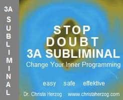 stop Doubt 3A Subliminal