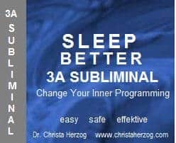 Sleep better 3A Subliminal