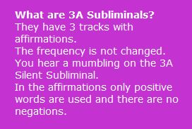 What are 3A Subliminals | Create