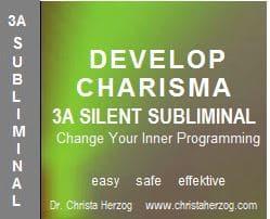 Develop Charisma 3A Silent Sublliminal
