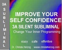 Improve Your Self Confidence 3A Silent Subliminal