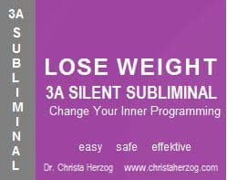 Lose Weight 3A Silent Subliminal