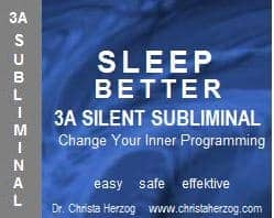Sleep Better 3A Silent Subliminal