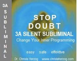 Stop Doubt with this 3A Silent Subliminal