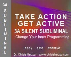 Take Action Get Active 3A Silent Subliminal