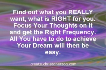 Create Your True Desires and New Reality