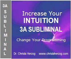 Increase Your Intuition 3A Subliminal