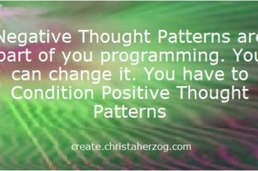 Positive and Negative Thought Patterns