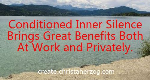 Inner Silence brings great benefits