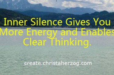 Inner Silence Creates Clarity and Happiness