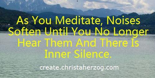 Inner Silence through medtation
