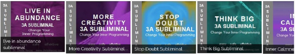 Subliminas to Change your programming