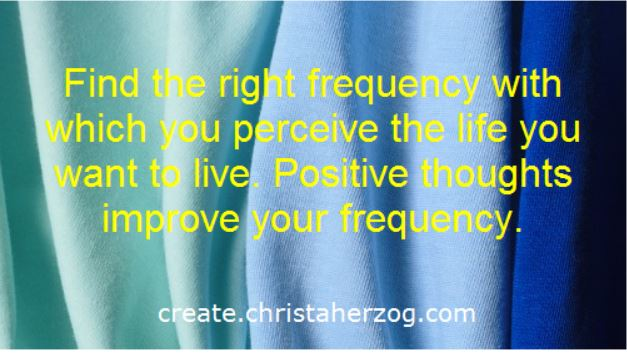 Find the right frequency to perceive your dream life