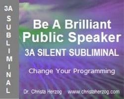 Be A Brilliant Publiv Dprskrt 3A Silent Subliminal Cover