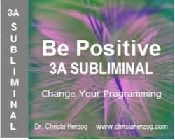 Be Positive 3A Subliminal Bild