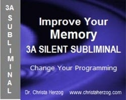 improve your memory 3a silent subliminal