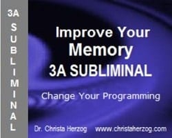 Improve Your Memory 3A Subliminal