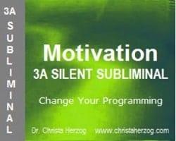 Motivation 3A Silent Subliminal Cover