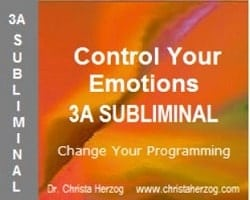 Control Your Emotions 3A Subliminal Cover
