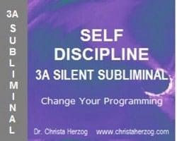 Self Discipline 3A Silent Subliminal