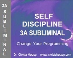 Self Discipline 3A Subliminal Cover