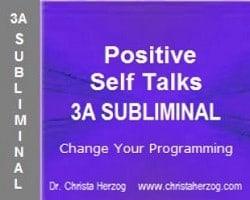 Positive Self Talks 3A Subliminal image