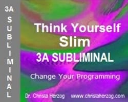 Think Yourself Slim 3A Subliminal Bild