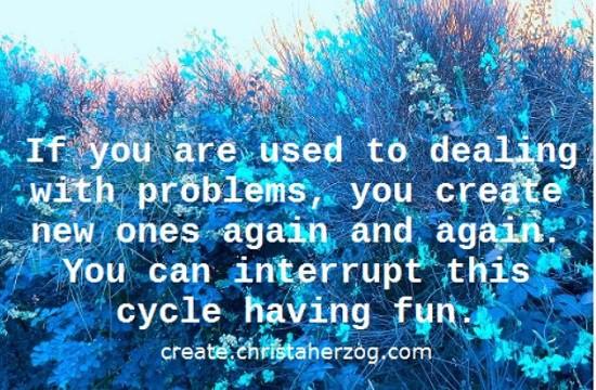 Stop problem-cycle having fun