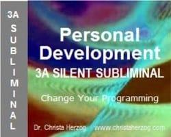 Personal Development 3A Silent Subliminal