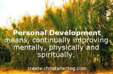 Personal Development is Improving Your Personality