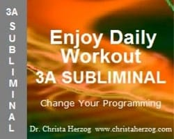 Enjoy Daily Workout 3A Subliminal Image