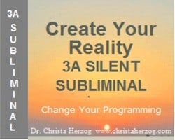 Create Your Reality 3A Silent Subliminal Image