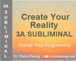 Create Your Reality 3A Subliminal Image