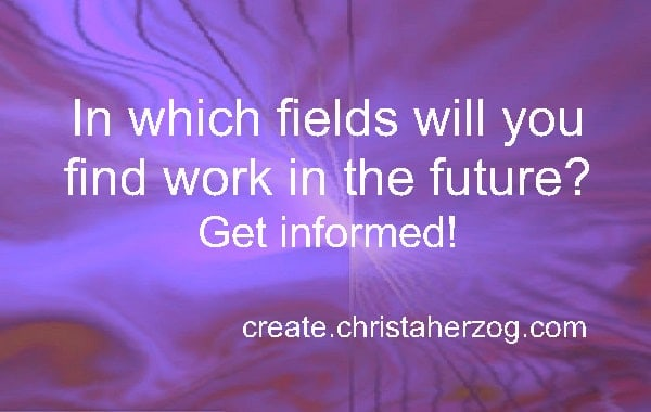 fields of work in the future